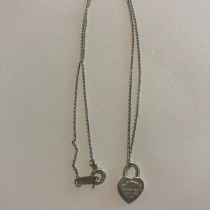 Tiffany & Co. Jewelry - Tiffany Heart Lock Necklace